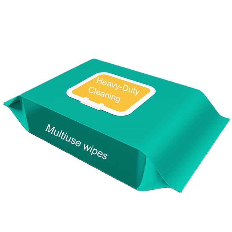 Non-woven fabric Industrial wipes to remove heavy grease and dust