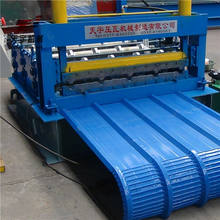 Hot sale 840 curving roof sheet cold roll forming machine and crmping machine