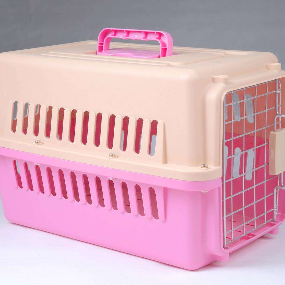 Wholesale Custom Durable Travel Pet Carrier Outdoor Portable Airline Pet Cage