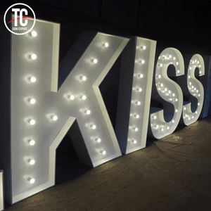 Wieden Grote Marquee Grote Liefde Letters Giant LED Light Up Letters