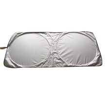 Car Windshield Sun Shade - Blocks UV Rays Sun Visor Protector, Sunshade to Keep Your Vehicle Cool and Damage Free, Easy to Use,