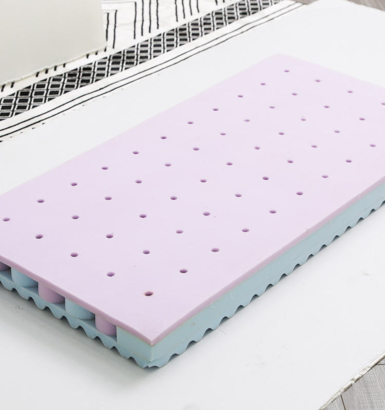 Eco-Friendly Air Layer Fabric Hard Bed Duplex Design Mattress Memory Foam