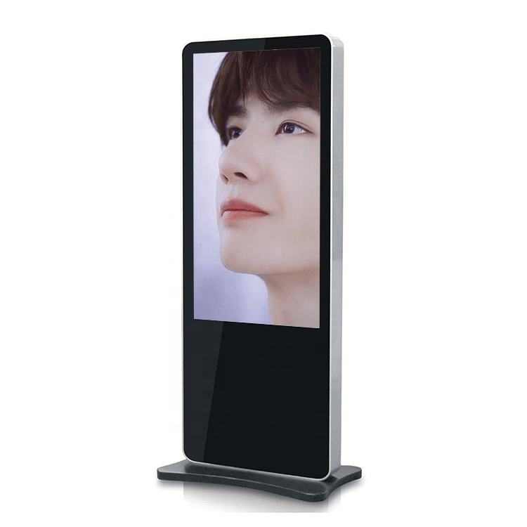 32'' Standing totem customized LCD adverting Display Interactive touch Screen/ Info Kiosk