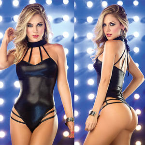 Hot Sale Cheap Leather New Style Security High Quality Sexy Ensemble Lingerie