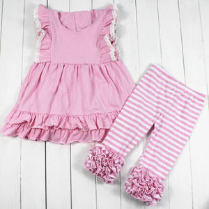 2021 spring teen girl ruffle clothing set children boutique outfits teen girls clothes kid outfits wholesale