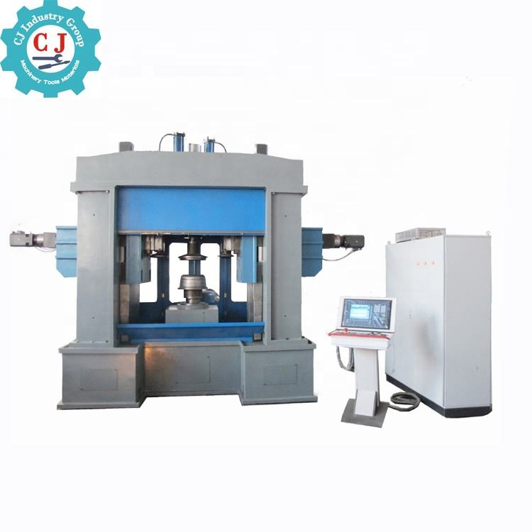 CNC Sheet Disc Metal Spinning Forming Machine For Wheel Hub Automatic Stainless Aluminum Wheel Car Rims Spinning Lathe Machine