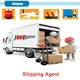 Top 10 air freight forwarder door to door express delivery from china to UK FR HU DDP services