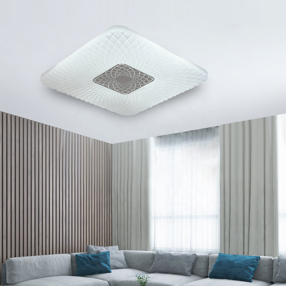 Infrared Remote Control Ceiling+Lights 3000-6000K acrylic CE ROHS certificate waterproof ip44 24w 36w 48W round lighting