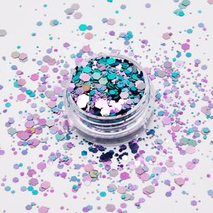 Eco Friendly Top quality colour shift glitter for Tumbler Crafts