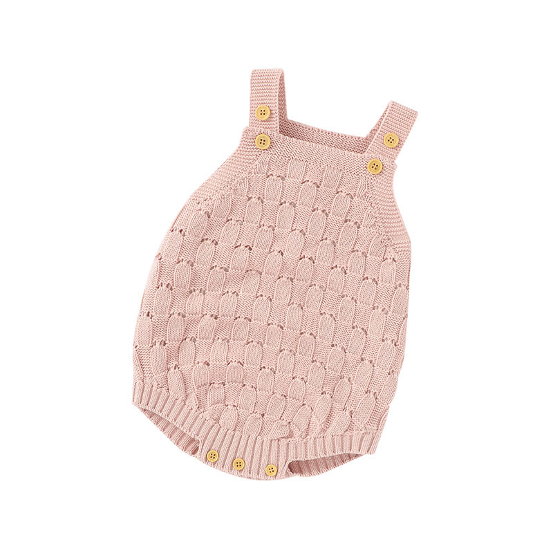 Mimixiong 100% Cotton Blank Plain Baby Clothes China Supplier Crochet Custom DesignBaby Clothes Hot Sales