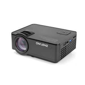 Owlenz SD150 Home Theater New Projector HD 720P 2500 lumens Multimedia Video LED Projector