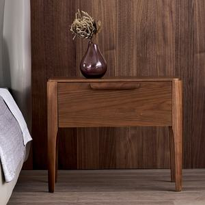 Scandinavian Modern Style High Quality Bedside Table Wooden Night Stand With Drawer