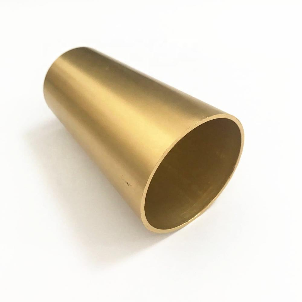 Aluminium Brass Gold Color Furniture Feet End Caps Metal Tips For Furniture Legs