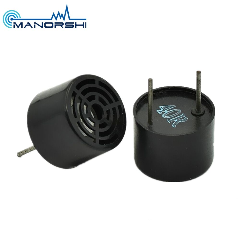 Manorshi 10 Mm 40 KHZ Piezo Ultrasonic Transmitter/Receiver Sensor