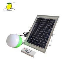 solar emergency light solar rechargeable led  bulb with power bank function