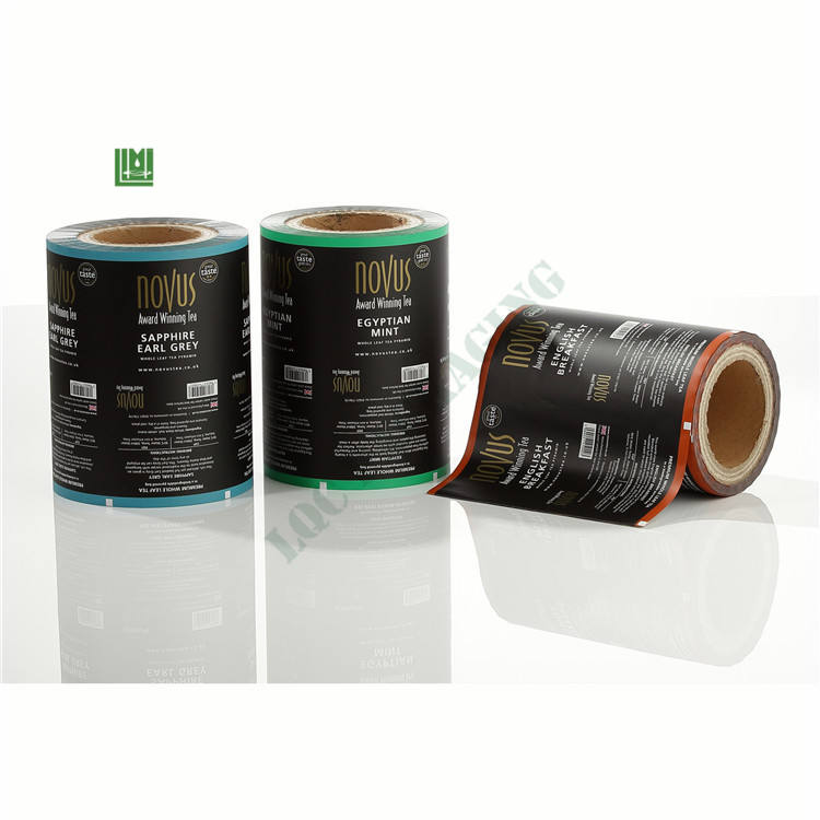 custom print flexible food packaging roll stock film stickpack for honey instant coffee milk powder protein bar cereal muesli