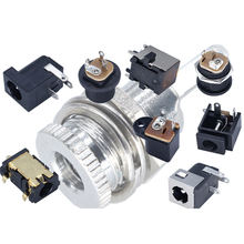 High Current 5A Socket Dc 2.1mm X 5.5mm DC Power Supply Female Panel Mount Connector 3.5mm 1.35mm 2 Terminal 12v Dc Socket