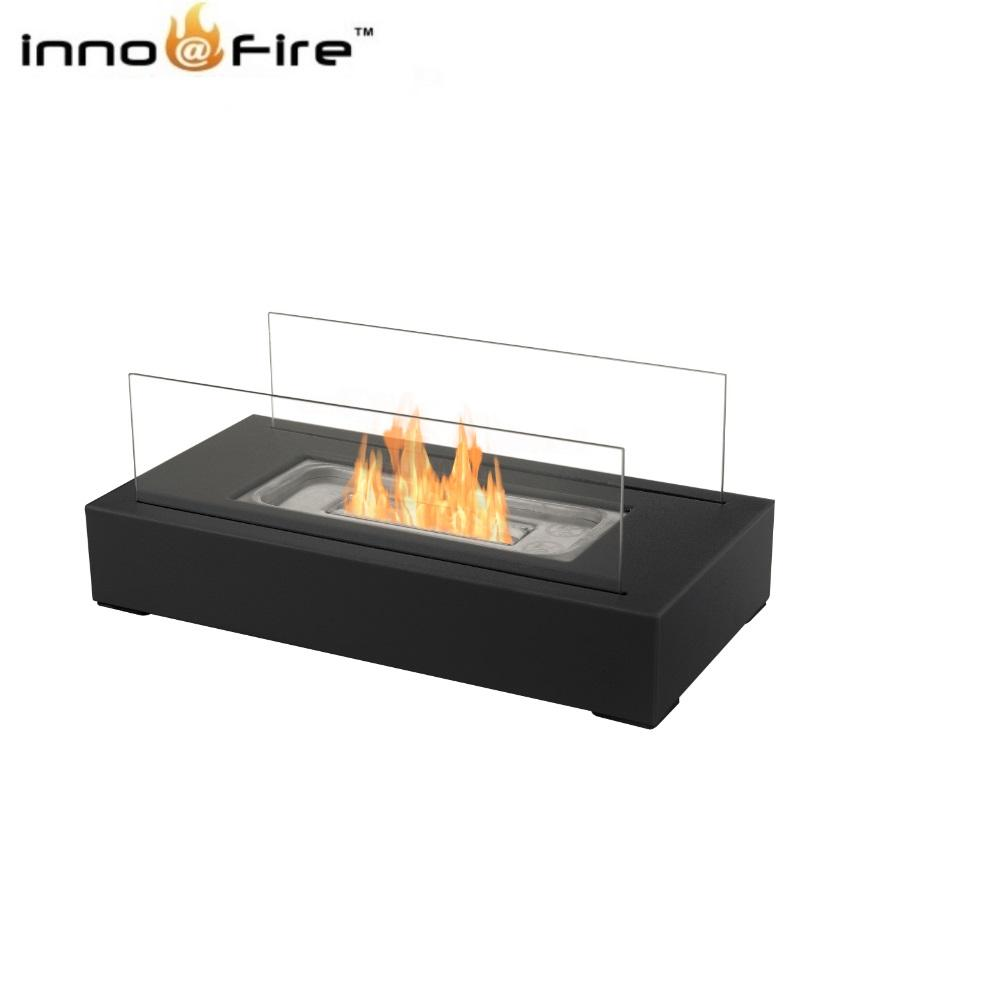Inno-Fire TT-28 sharper image tabletop fireplace indoor chiminea