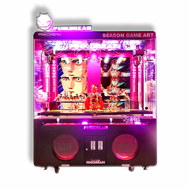 Fun vedning Forerunner-Game Art Sumptuous 2 Players Gift Claw Game Machine for sale