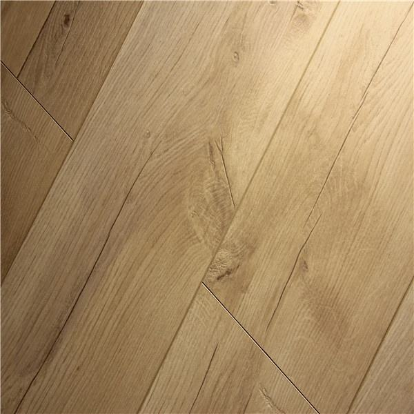 Oak Color V-groove Type Laminate Floating 8mm hdf laminate flooring