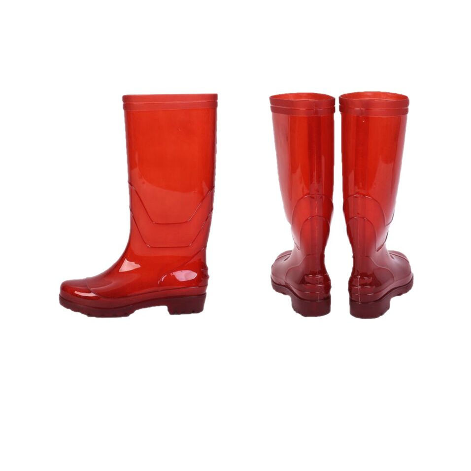 New Style Injection Rain Waterproof Shoes Rubber Wellies Wellington Cheap Pvc Water Boots