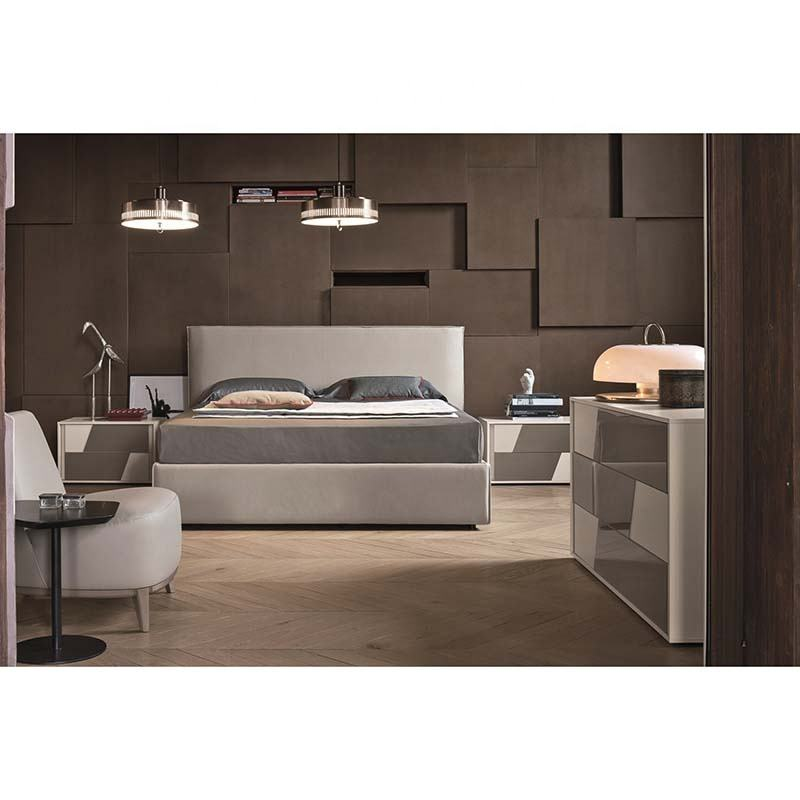 New Model Bedroom Furniture King Size 11NAA042 Italian Bedroom Set