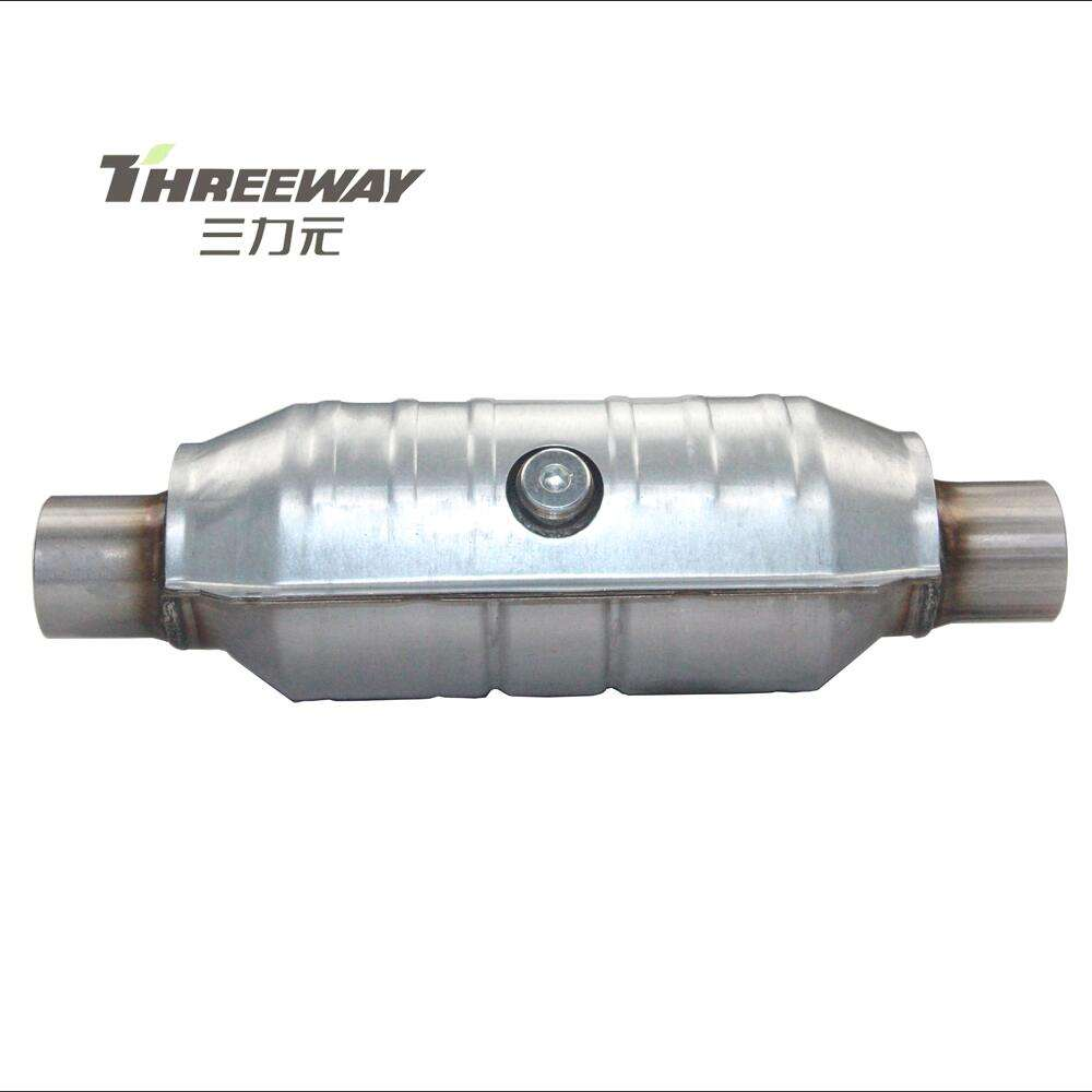 High quality 25000 miles OBD2 catalytic performance auto universal catalytic converter