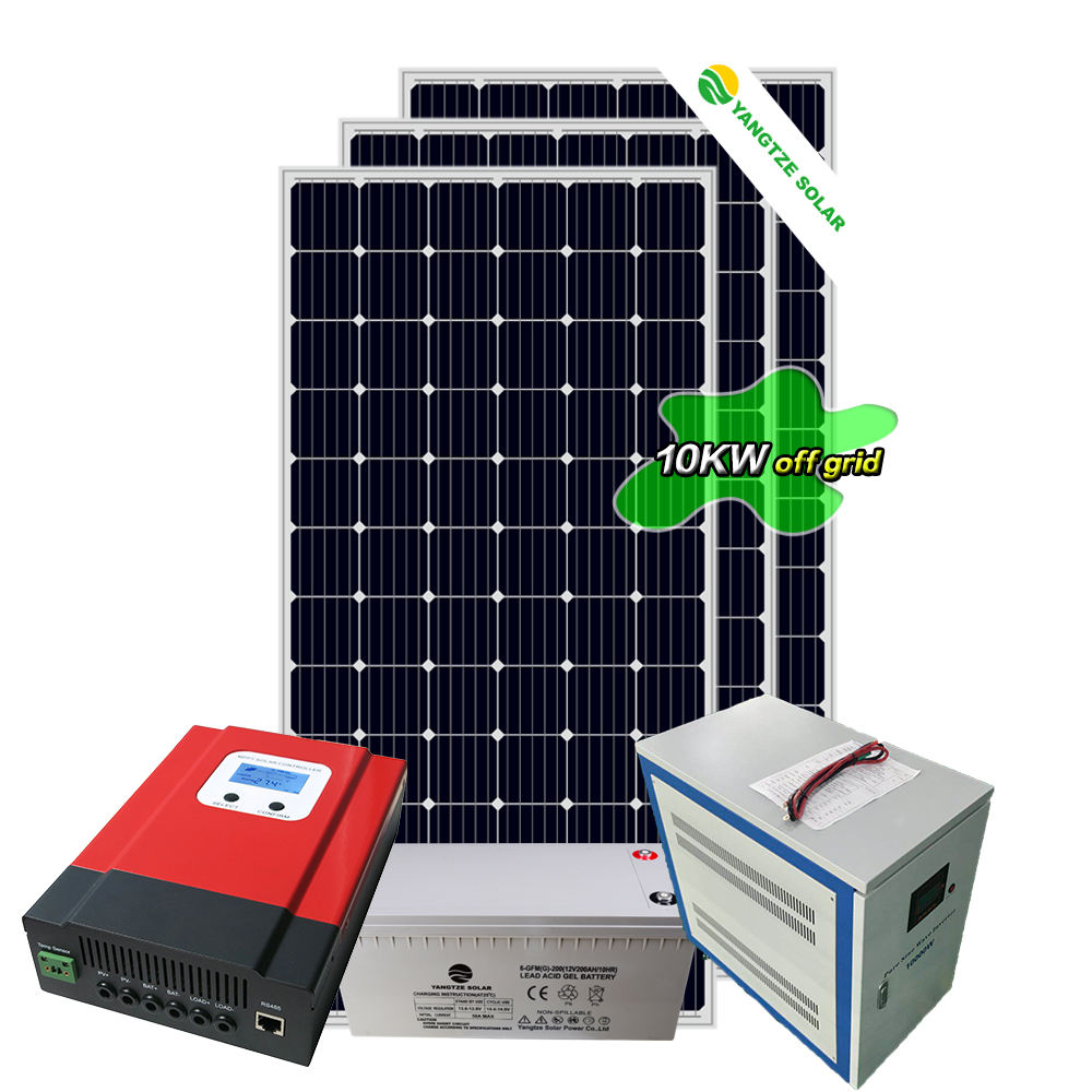 Yangtze highest efficiency 10kw solar wind hybrid power system home