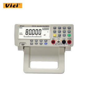 Vici VC8145 Auto Range Bench Top Dual Display 80000 Zählt True RMS Digital-Multimeter AC DC Spannung Meter Temperatur Tester
