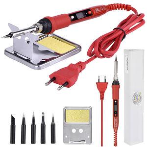 220v 60w adjustable electric temperature welding soldering iron tool solder R.DE