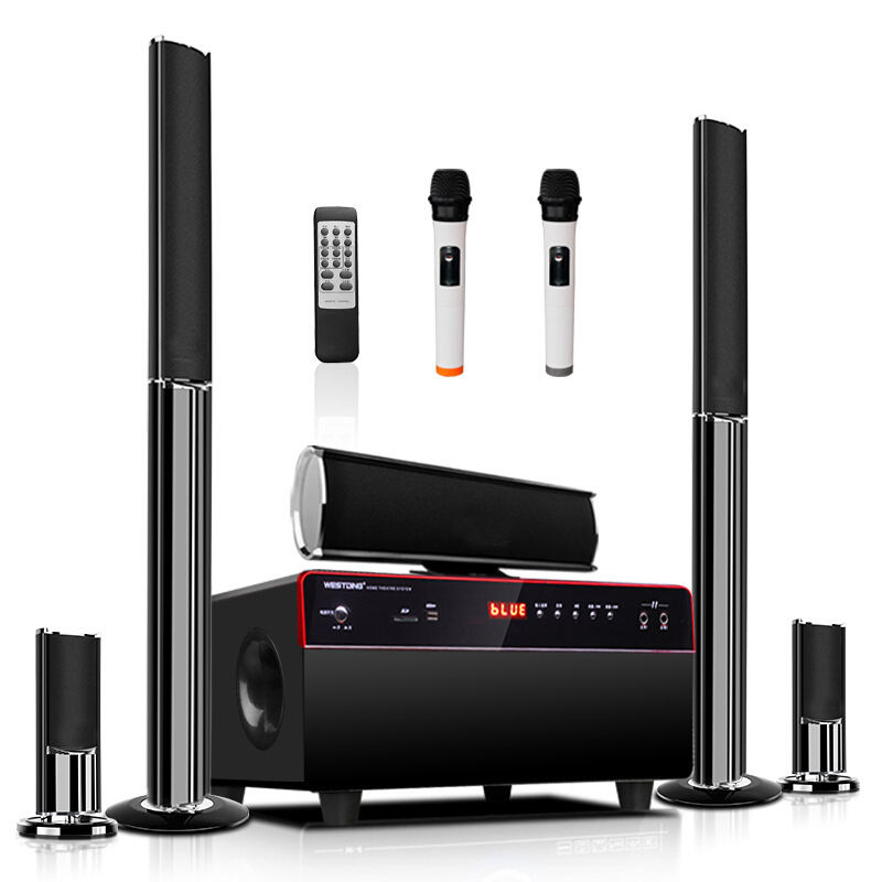 K80 3D stereo surround home theater audio