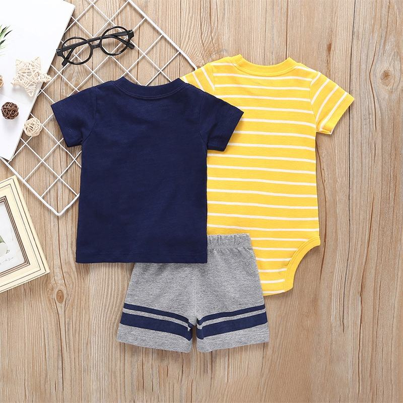 Baby Boys Gentleman Clothes Set Summer Party Infant newborn baby clothes