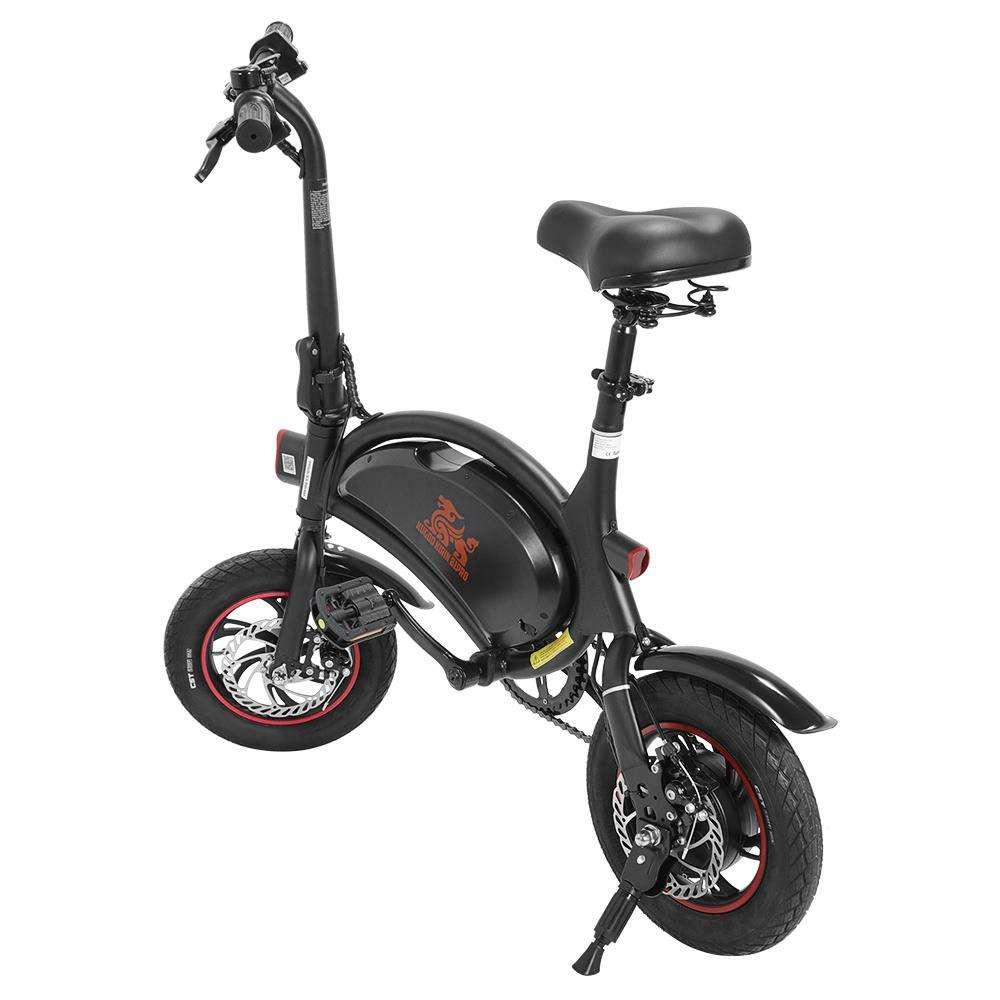 Kugoo popular Kirin B1 Folding Moped Electric Bike E-Scooter 250W Brushless Motor Max Speed 25km/h 10AH