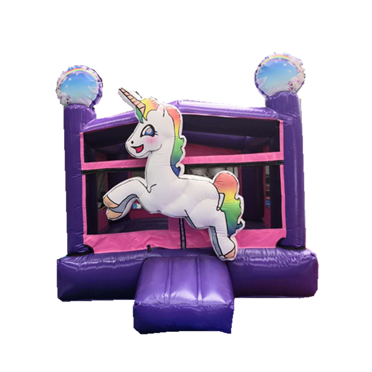 factory made unicorn newest design inflatable bouncer house commercial inflatable bouncy castle prices