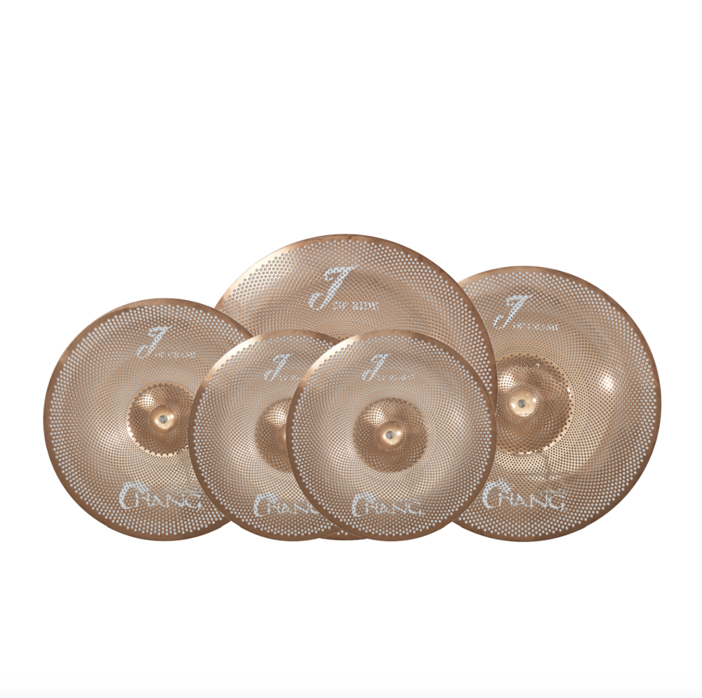 Chang J series Low Volume Cymbals With Free Cymbal Bag