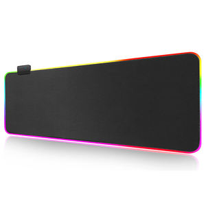 Congsi rgb mouse pad razer mouse pad promotional keyboard mousepad mat gaming mouse pad led
