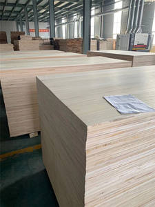 JiuHeng Paulownia Edge Glued Joint Solid Wood Board For Furniture