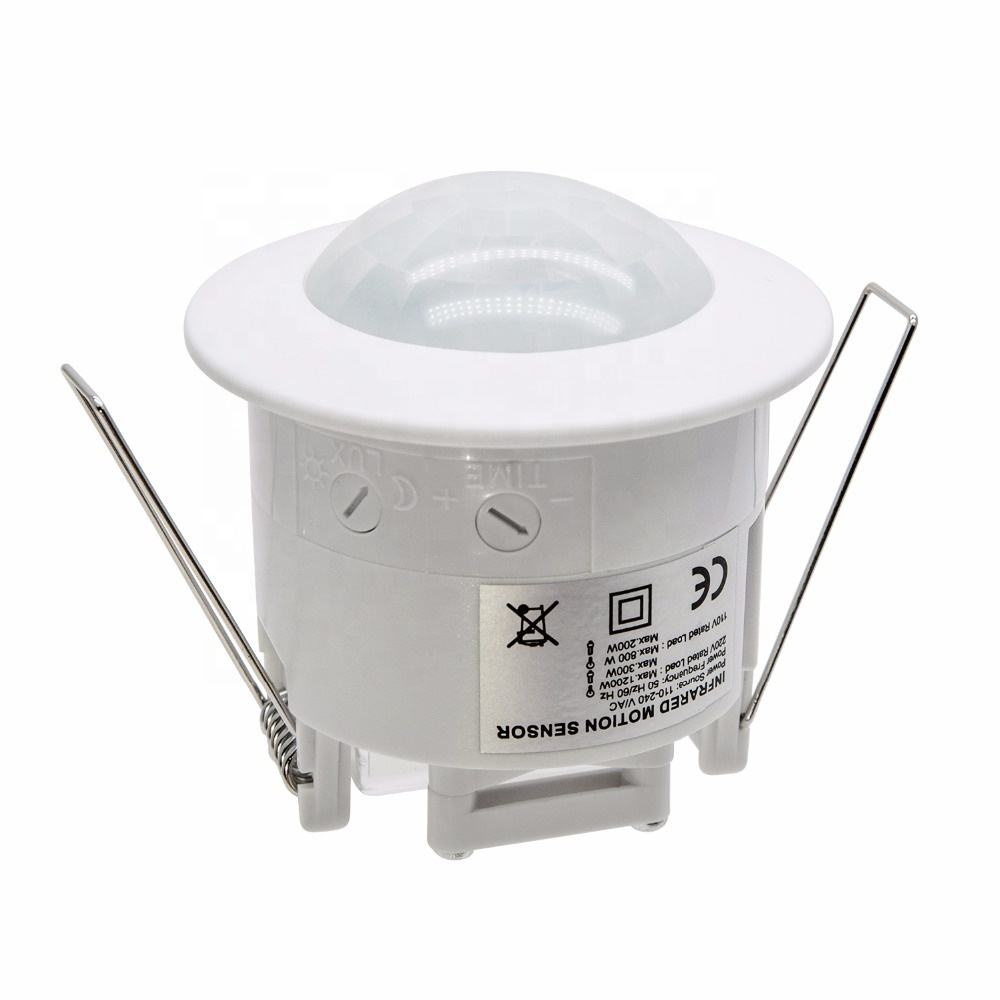 BESTER Manufacture Ceiling Occupancy 220V Eenergy Saving ceiling 360 angle ajustable pir ceiling vibrator pir Sensor