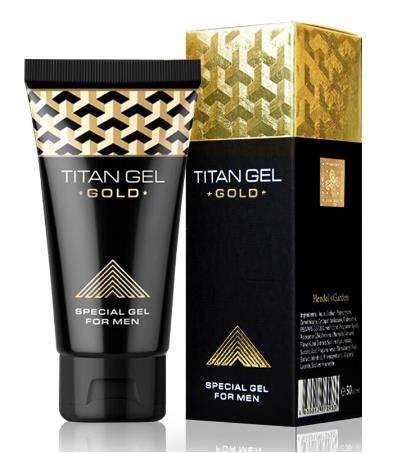 Original Titan Gel Gold Russia Penis Enlargement Cream Retarder Intim Gel Help Male Potency Penis Growth Delay Cream