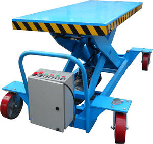 ZX Hydraulic electric adjustable lift table scissor self propelled