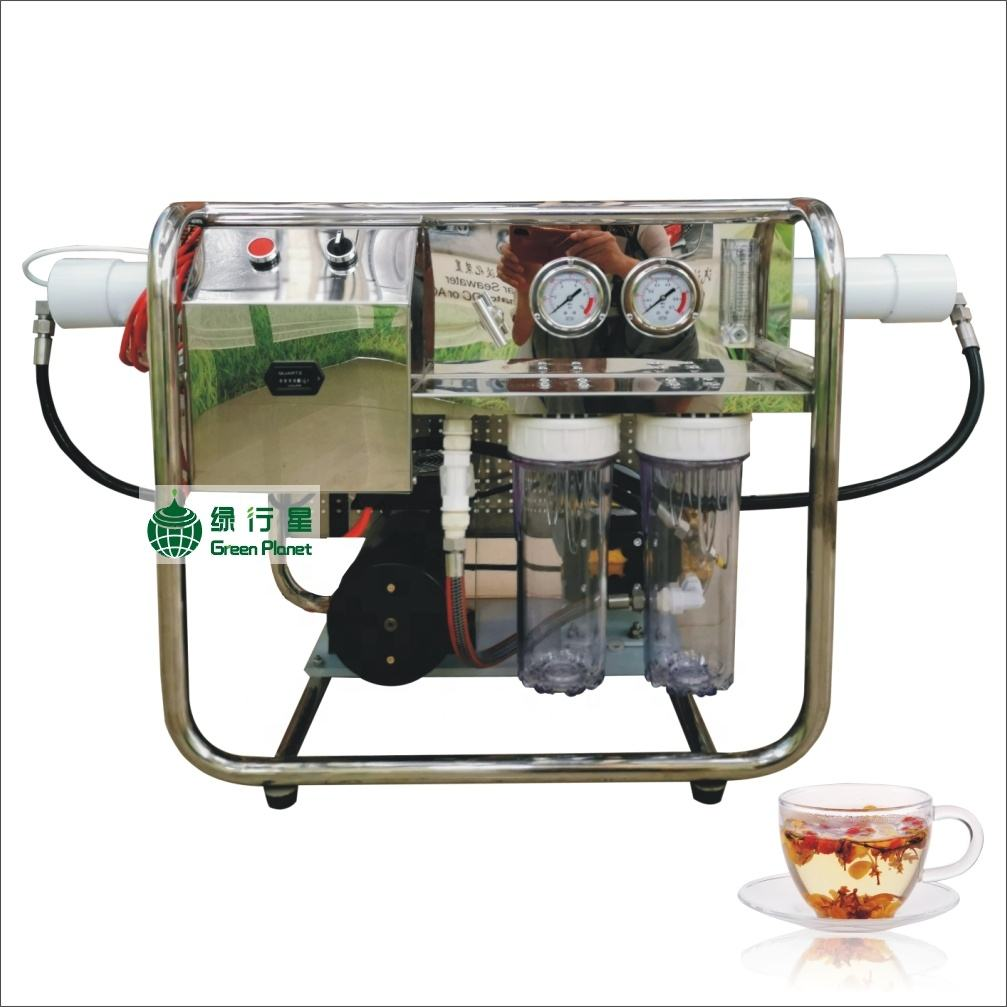 500LPD DC12V/24V Small portable desalination equipment seawater water maker for coastal hotel desalination unit