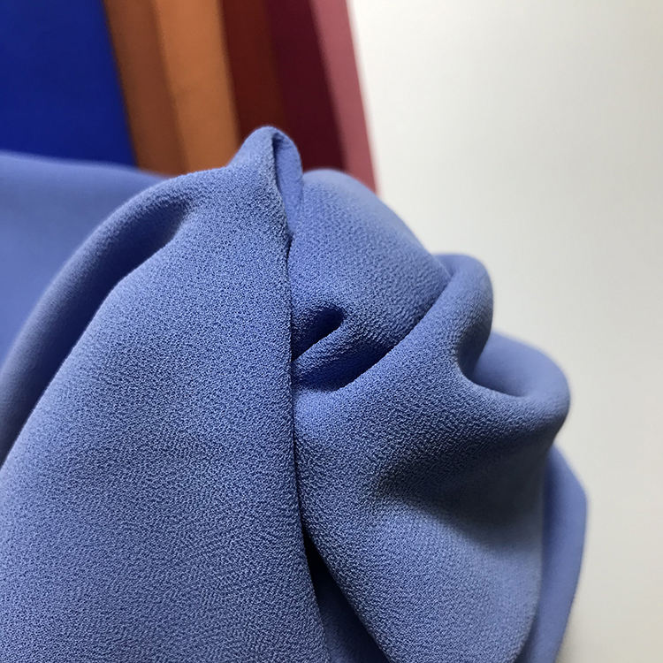 Hot Selling Factory Direct Crepe Chiffon Fabric 100% Polyester For Garment