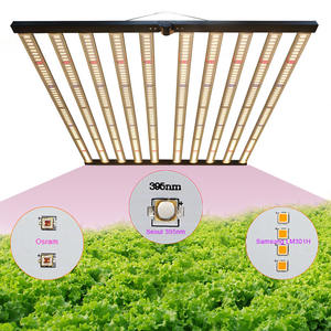 Meijiu Grosir Samsung Hortikultura 1000 Watt LED Grow Light Bar Quantum Lm301H Papan OSRAM Komersial LED Lampu Pertumbuhan