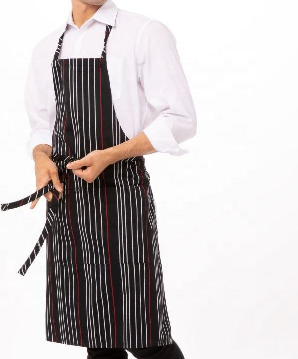 Bib Apron Shoulder Apron With Adjustable Neck Buckle