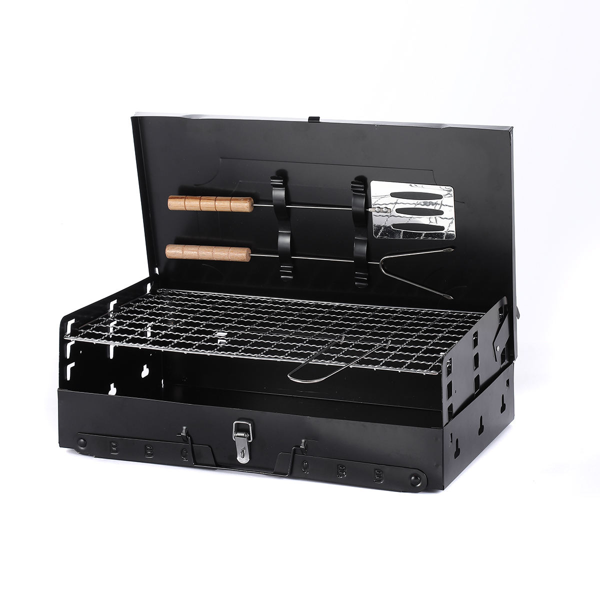 Charcoal Bbq Grill Portable,Perfect for Tailgating,Camping or Any Outdoor Event
