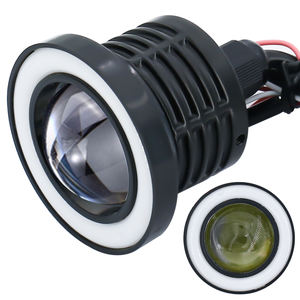 Wholesale 2.5inch 3inch 3.5inch COB Motorcycle LED Drl Angel Eye Fog Lamp 10w Car Daytime Running Light WG022