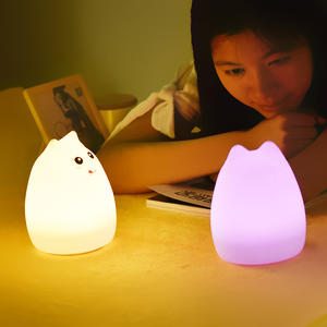 Led Clap Baby Sleep Night Light Nursery Portable Battery Operated Night Light