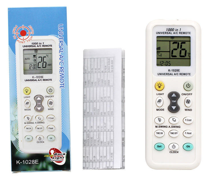 Universal K-1028E Low Power Consumption K-1028E Air Condition Remote LCD A/C Remote Control Controller GDeals