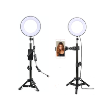 2020 custom hot sale 8 inch USB makeup ring light with  tripod