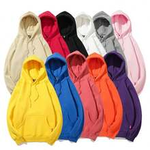 Wholesale Hooded Pullover custom Men's Blank Tech Cotton Basic Sweatshirt Fleece Hoodie unisex